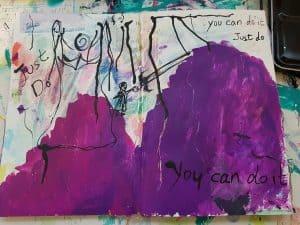 ציור אינטואיטיבי ציור רגשי